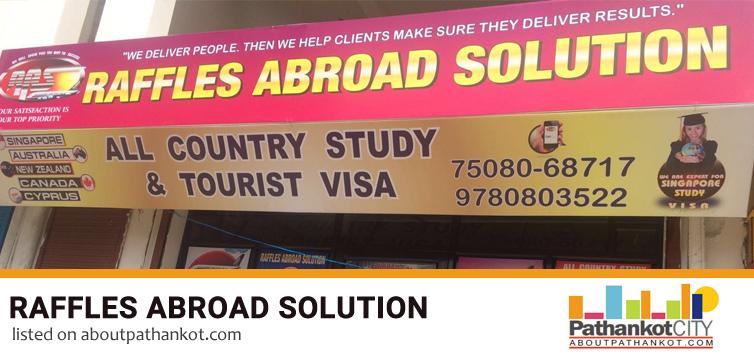 Raffles Abroad Solution