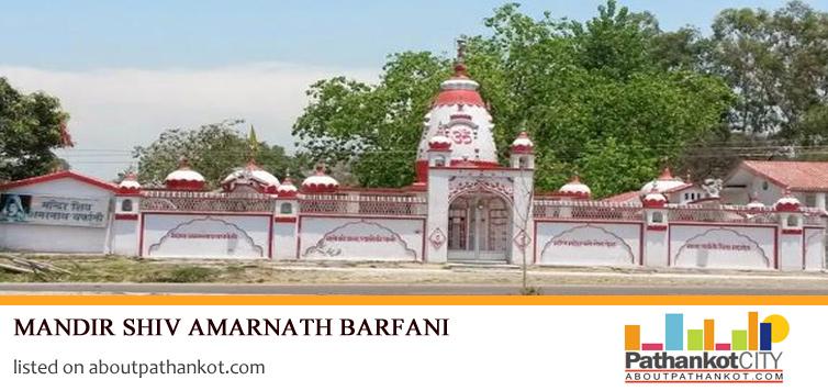 Mandir Shiv Amarnath Barfani