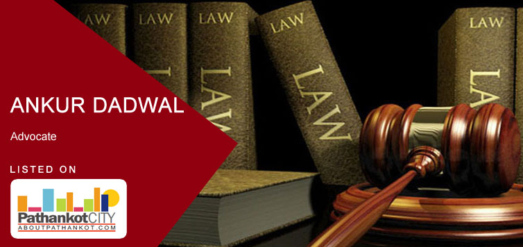 Ankur Dadwal Advocate