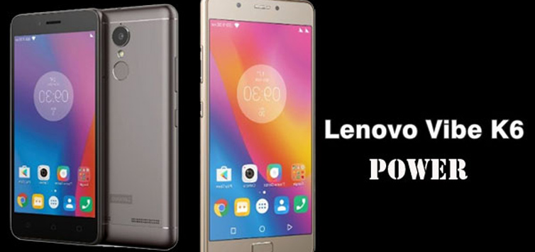 Lenovo Vibe K6 Power