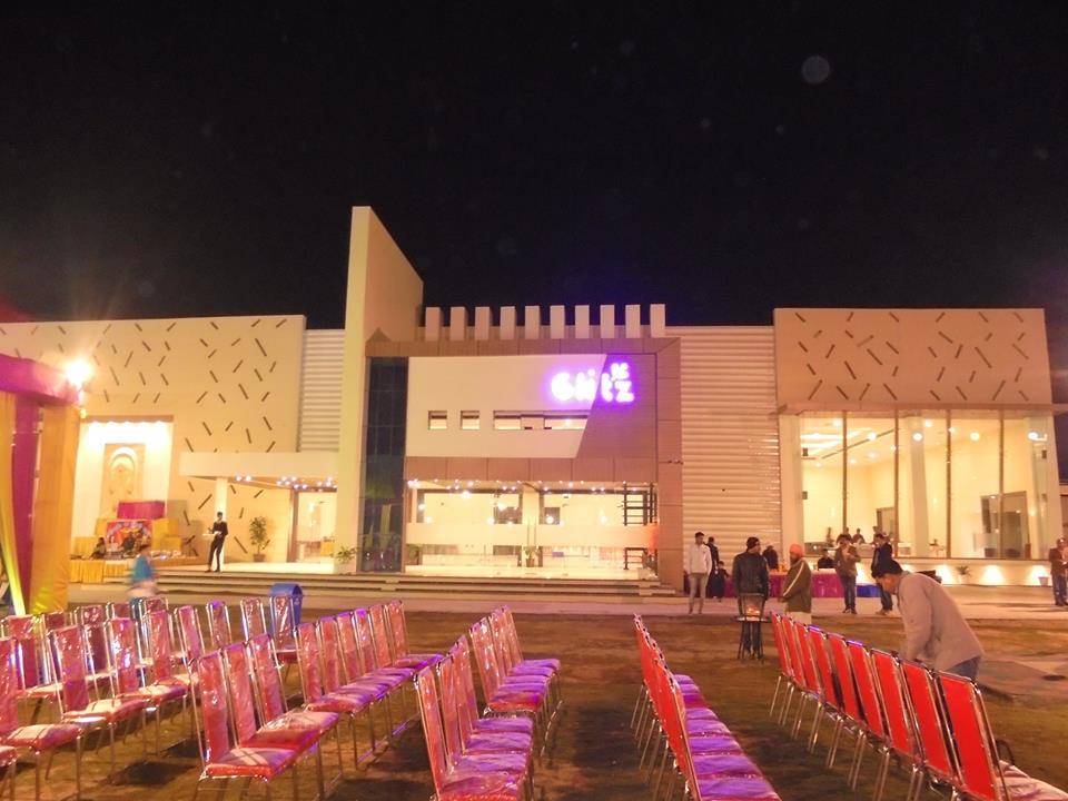 Glitz Resort Banquet Hall Parties Palace Pathankot
