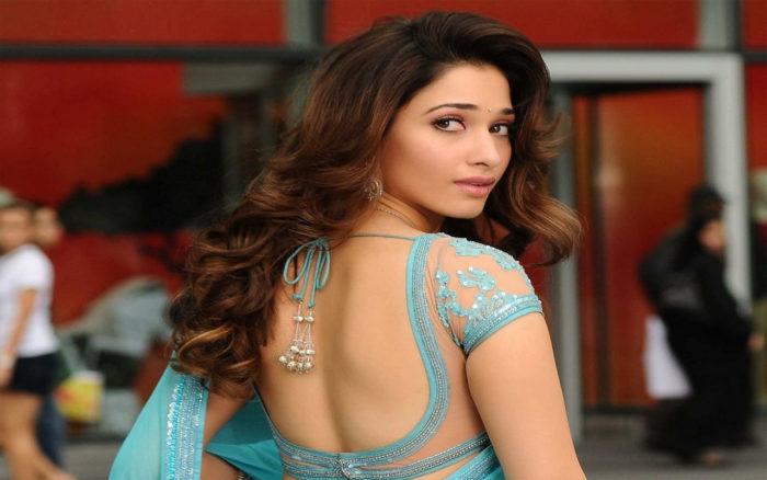 Tamanna Back: Sexy Hot Tamanna Bhatia Bikni Images Wallpapers Photo Gallery