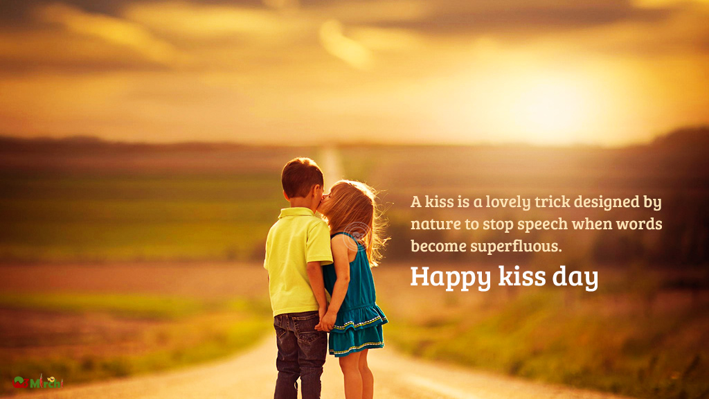 30 Happy Kiss Day Pictures Wallpapers For Lover Special: Happy Kiss Day February 13 2017 Monday Images Quotes Sms