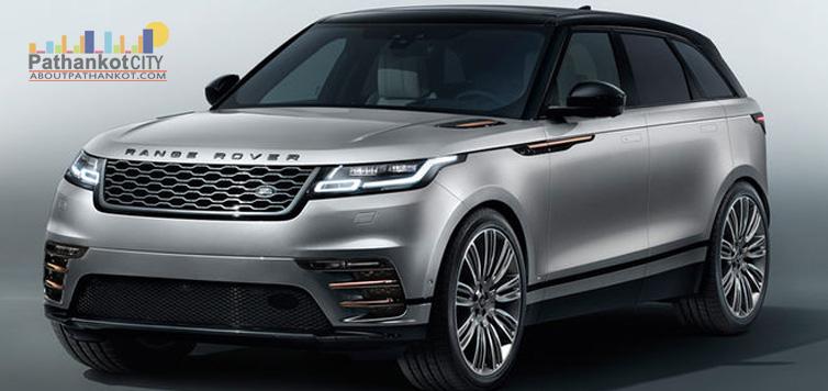 Range Rover Velar First Look 2018