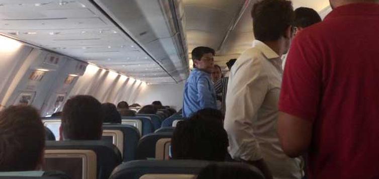 Bad Weather Diverts Jet Airways Flight