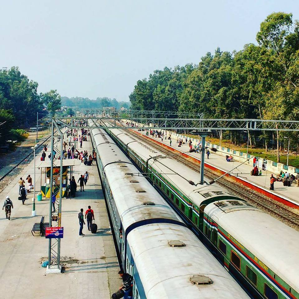 Pathankot Cantt Railway Station