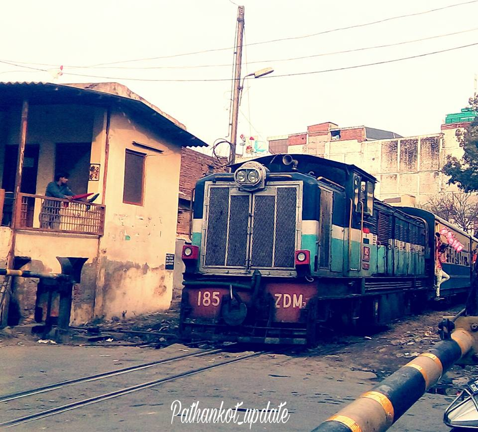 Pathankot Railway Crossing