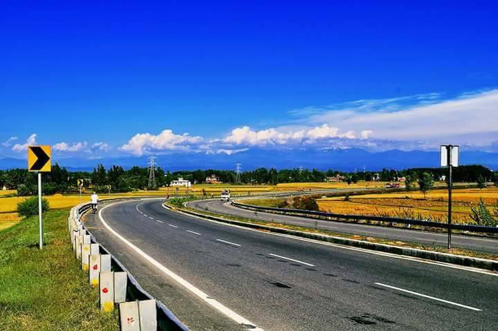 Pathankot to Amritsar Highway