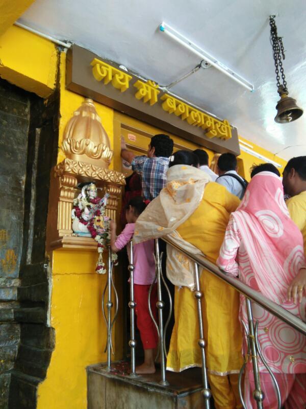 Bagla Mukhi Temple Kangra