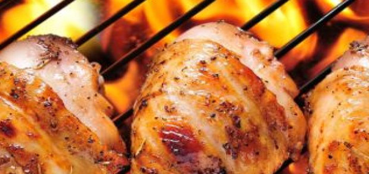 Recipe of Peri Peri Chicken star_red.pngstar_red.pngstar_red.pngstar_red.png TweeterfacebookGoogle Plus RedditEmail Peri Peri Chicken Chef: Vijay Anand Bakshi Restaurant: Barbeque Nation, New DelhiRecipe Servings: 4Prep Time: 15 Minutes Cook Time: 30 Minutes + Marination Time (4hrs) Peri peri chicken is a world renowned dish, famous for its bold, vibrant and extremely spicy flavour.Ingredients Chicken 1 kg For the piri-piri sauce: 6-12 fresh red chilies, 1 Tbsp garlic, chopped 1 tsp salt 1/2 tsp oregano 1/2 tbsp paprika (or red chili powder) 100 ml olive oil 50 ml red wine vinegar How to Make Peri Peri Chicken Preheat the oven to 180C. Place the chilies on a roasting tray and roast them for 10 minutes. Cool and roughly chop the chilies. Place the chilies, garlic, salt, oregano, paprika, olive oil and vinegar in a saucepan, and simmer for 2-3 minutes. Allow the mixture to cool, then place in food processor and blend to a fine paste. Place the chicken in a sealable plastic bag. Add half the piri-piri sauce, spreading it evenly over the chicken. Seal and marinate in the refrigerator for at least 4 hour. Skewer the marinated chicken and grill till done. Chef's tip: If you don't find paprika then use red chili powder. Key Ingredients: chicken, red chilli, garlic, salt, oregano, paprika, red wine vinegar, olive oil Tags: Dinner PartyGourmetNew DelhiRestaurant RecipesSpicy RELATED ARTICLES 10 Best Chicken Fillet Recipes 10 Best Chicken Fillet Recipes 10 Best Chicken Dinner Recipes 10 Best Chicken Dinner Recipes The History of Butter Chicken, Indian Cuisine's Most Loved Curry The History of Butter Chicken, Indian Cuisine's Most Loved Curry RELATED VIDEOS Vicky Ratnani Cooks His All-Time Favourite Meat RecipesVicky Ratnani Cooks His All-Time Favourite Meat Recipes22:47 Vicky Ratnani Cooks His All-Time Favourite Meat Recipes Masala Chai Chicken & Ragi Waffles: Check Out These Unique Combinations On Vicky Goes DesiMasala Chai Chicken & Ragi Waffles: Check Out These Unique Comb