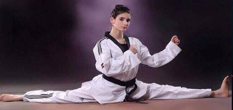 flying kick taekwondo academy sports fitness pathankot