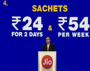 JioPhone Unlimited Calls and 4G Data at Rs 153 a Month