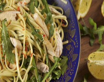 Lemon Chicken and Rocket Pasta Recipe