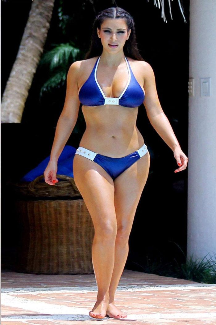 Kim Kardashian Hot & Sexy Bikini Photos Images HD Wallpapers