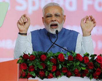 Prime Minister Narendra Modi To Address Mega Rally In Gujarat Today