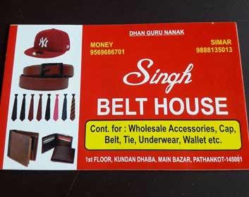 Singh Belt House