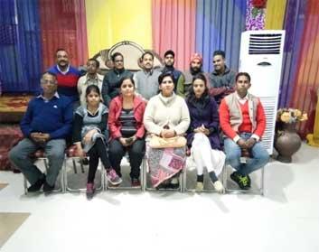 भारतीय युवा एकता मंच ने प्रोजेक्ट्स पर चर्चा की