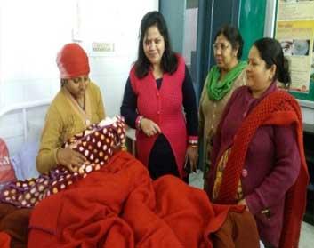 सीएचसी सुजानपुर में मनाया मातृत्व दिवस