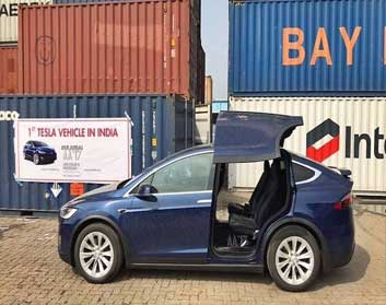 India Gets Its First Ever Tesla Model X Electric SUV