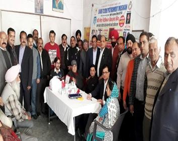 लायंस क्लब मुस्कान ने ब्राह्मण सभा शास्त्री नगर
