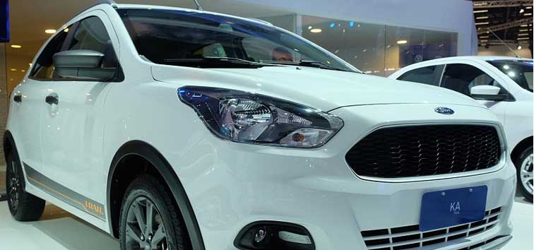 2018 Ford Figo Cross