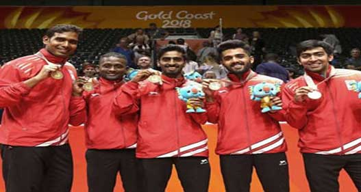 India's Historic Gold Medal in Table Tennis