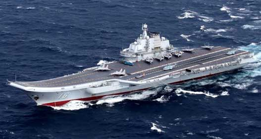 India May Lose Aircraft Carrier Edge Over China