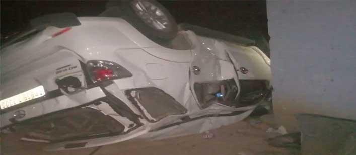 सड़क हादसे में घायल की पठानकोट में मौत