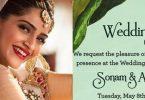 Sonam Kapoor Looks Awsome In Her Mehandi Function