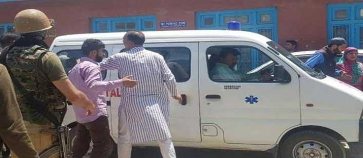 जम्मू-कश्मीर शोपियां में पुलिस पर ग्रेनेड हमला