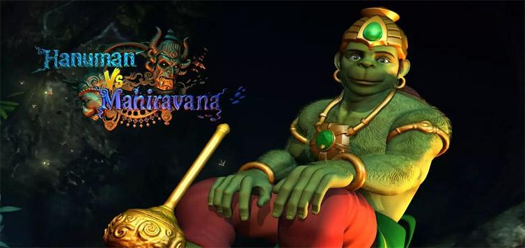 Hanuman vs Mahiravana 3D