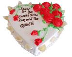 Fruit Cake Heart