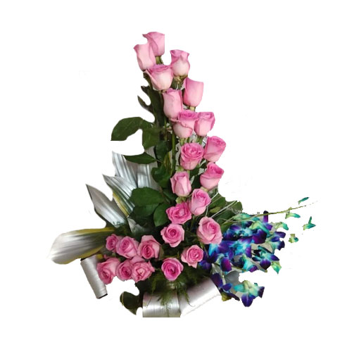Pink Rose Orchids