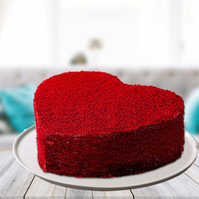 Red Velvet Cake 1kg Eggless