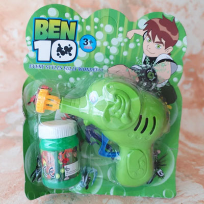 Ben Ten Kids Bubble Gun
