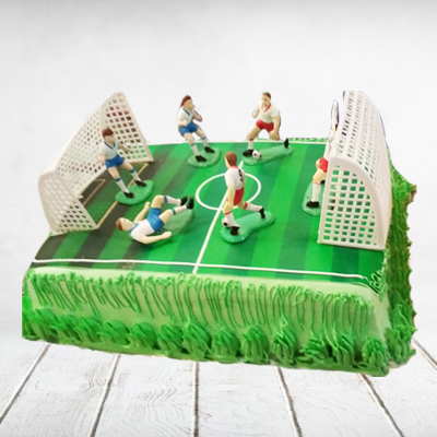 football cake chocolate 8 pounds Eggless