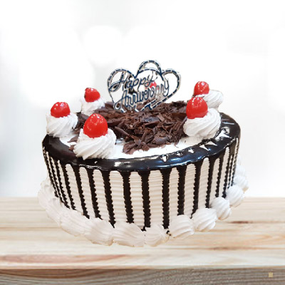 Black Forest Cake Eggless Round 1kg ₹ 1250