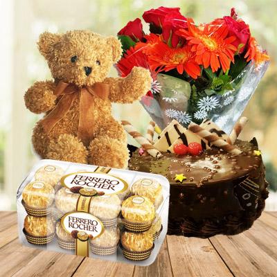 Cake + Teddy