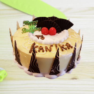 Mix Fruit Cream Cake Round 1kg ₹ 1150 Eggless
