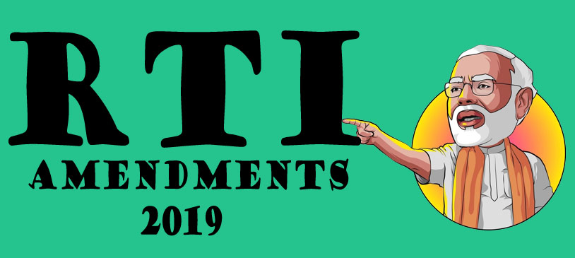 RTI Amendements