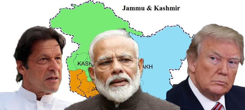 Trump on Kashmir
