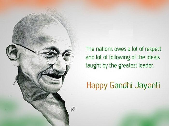 Gandhi Jayanti Image