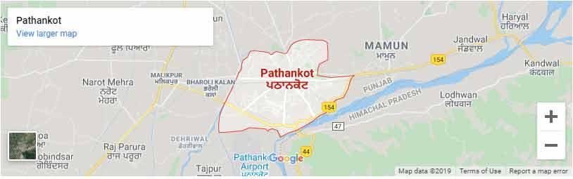 pathankot map