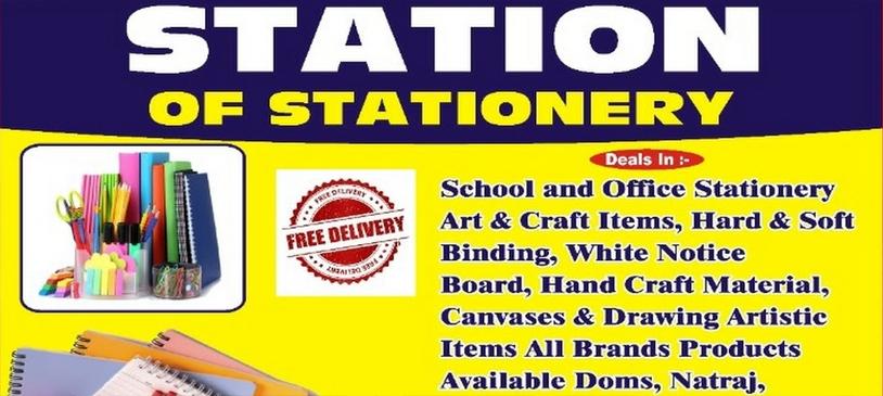 Station of stationery
